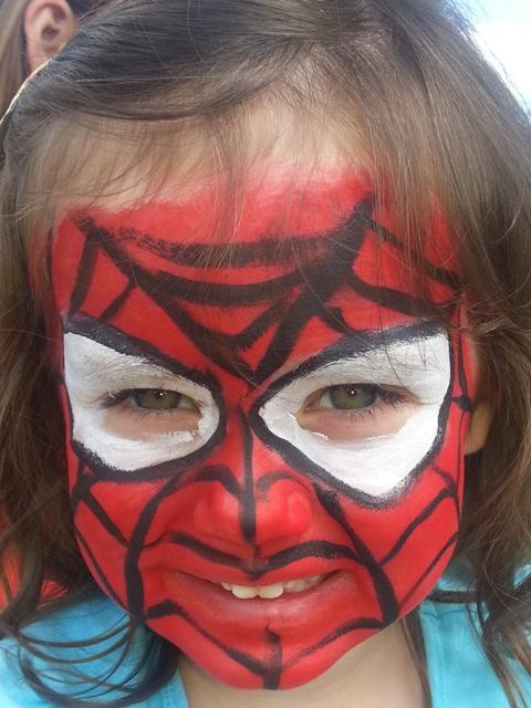Fabaroo Faces Spiderman