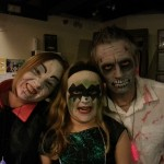 Vampire, Witch and Zombie